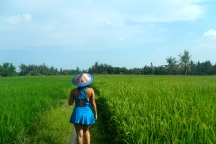 Girl, Unspotted -- Bali