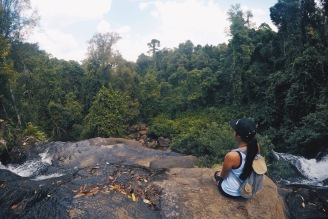 Girl, Unspotted Phnom Kulen