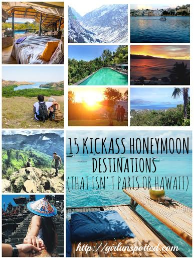 Girl, Unspotted -- Kickass Honeymoon