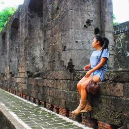 Girl, Unspotted -- Intramuros, Manila