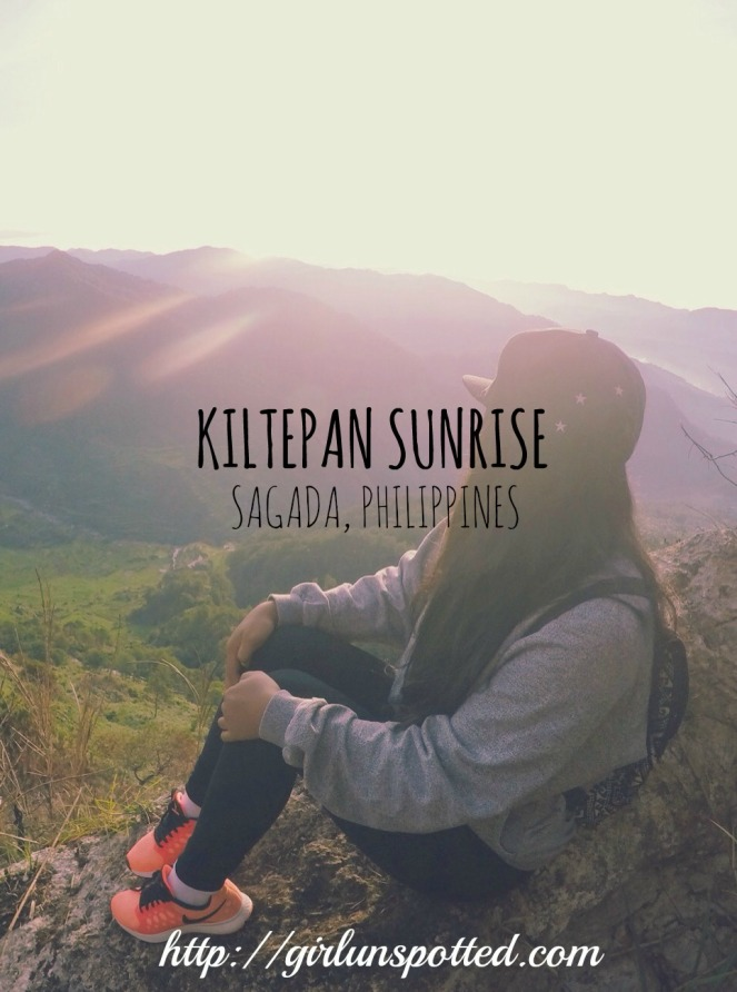 Girl, Unspotted - Kiltepan Sunrise, Sagada