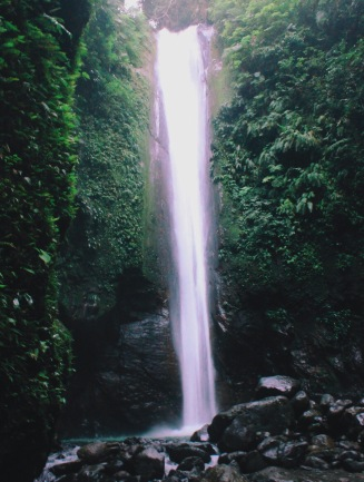 Girl, Unspotted -- Casaroro Falls