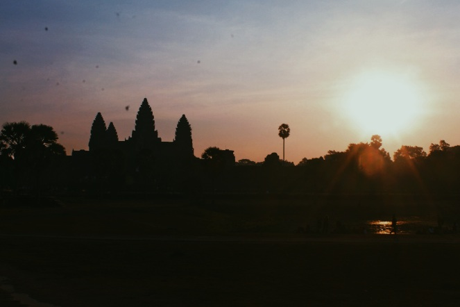 Girl, Unspotted -- Angkor Wat