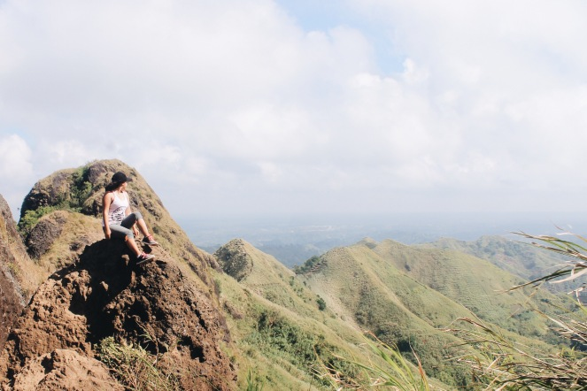 Girl, Unspotted -- Mt. Batulao Hike