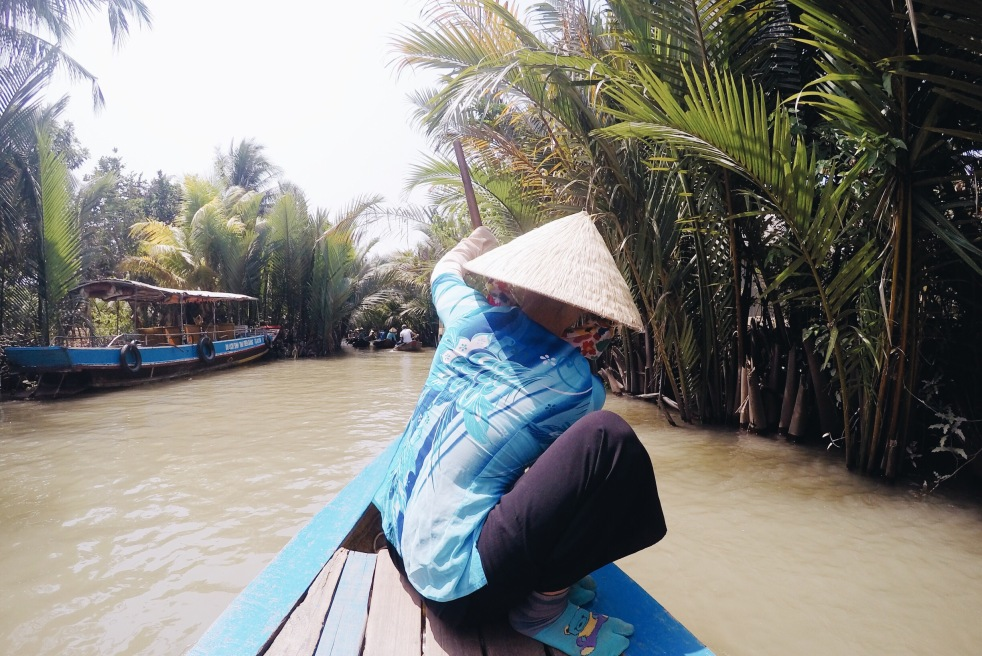 Girl, Unspotted -- Mekong Delta
