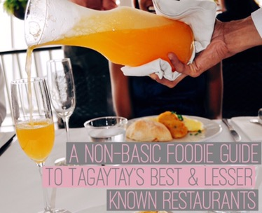 tagaytay foodie guide girl, unspotted