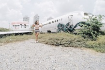 airplane graveyard bangkok girl, unspotted