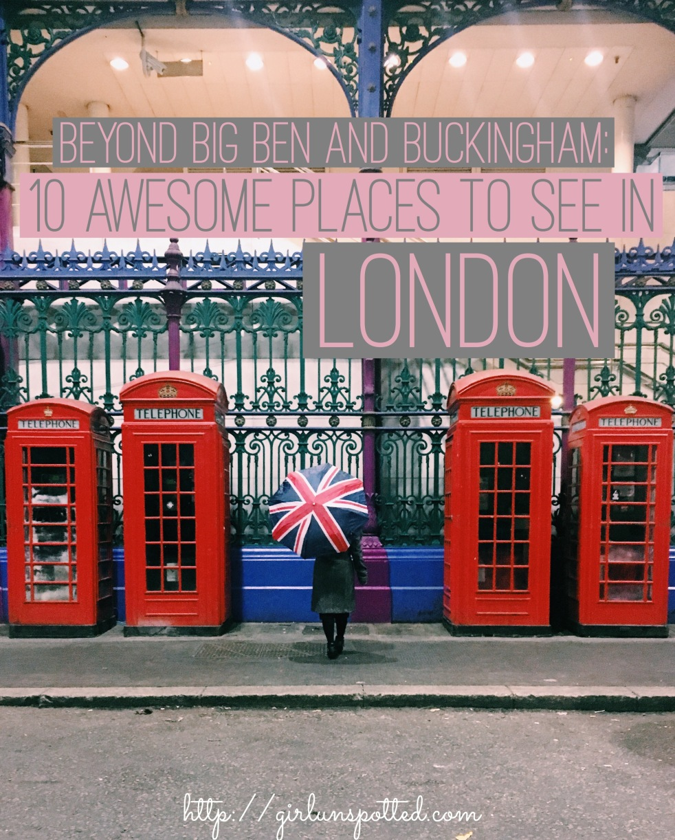 girl, unspotted london things to do