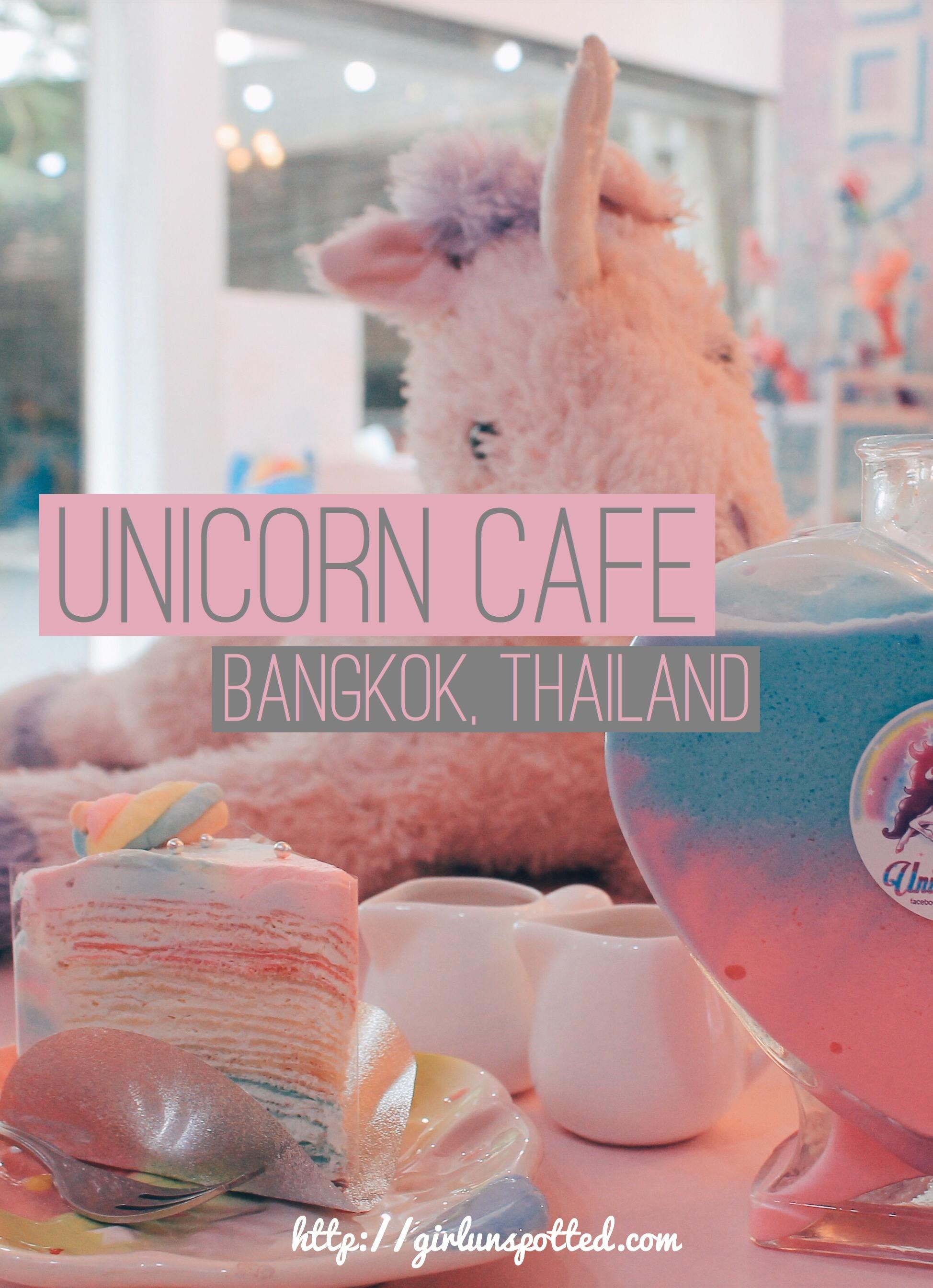 I Found It First! Bangkok's Unicorn Cafe