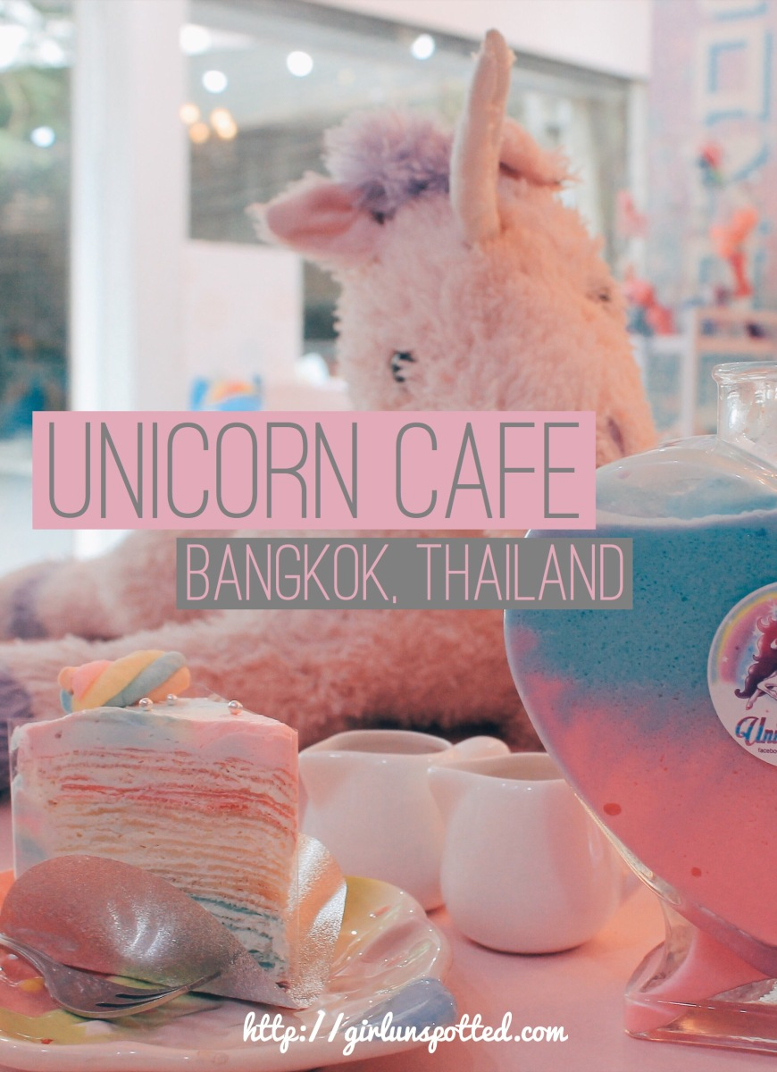 I Found It First Bangkok S Unicorn Cafe