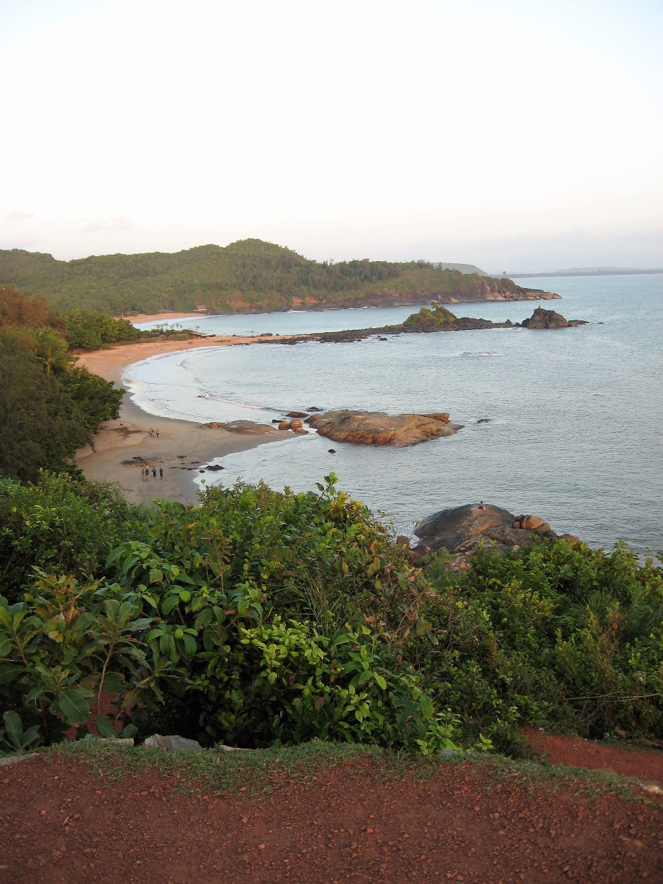 Gokarna Om beach view