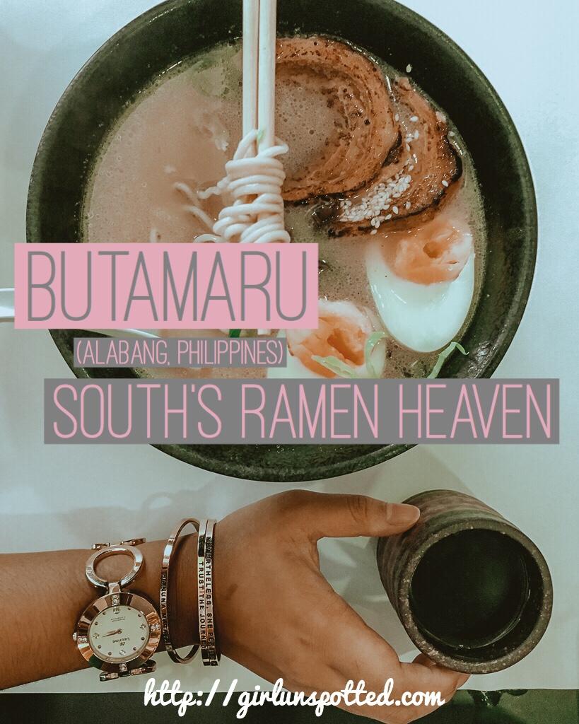 I Died And Went To Ramen Heaven aka Butamaru
