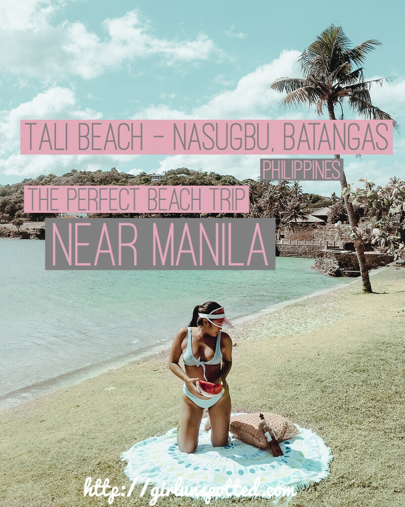 Tali beach nasugbu