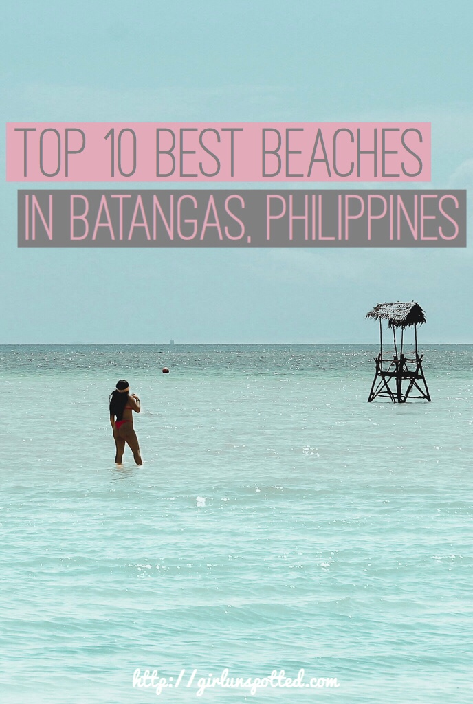 best beaches in batangas